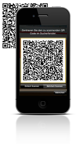 Scan with yout iPhone or Smartphone